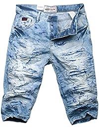 Cipo & Baxx Herren Jeans Shorts Bermuda CK116