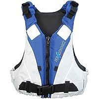 Lalizas Performance Ayuda de Flotabilidad, Unisex Adulto, Blanco/Azul, 90 kg
