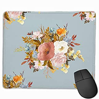 Autumn Love - Pale Blue_75459 Mouse pad Custom Gaming Mousepad Nonslip Rubber Backing 9.8