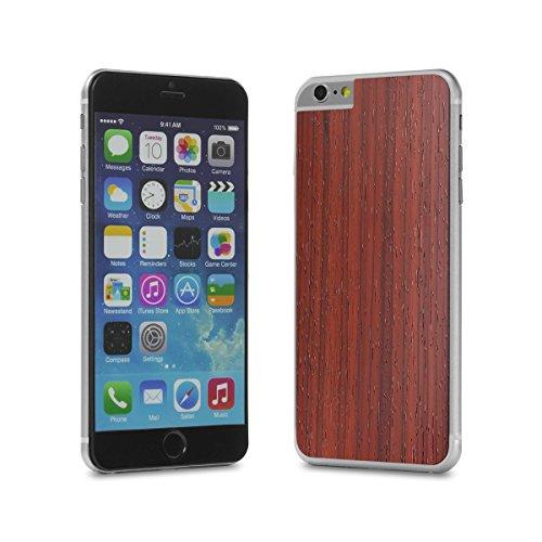 Cover-Up #WoodBack Peau de Bois Naturel pour iPhone 6 / 6s Plus - Cèdre Padouck