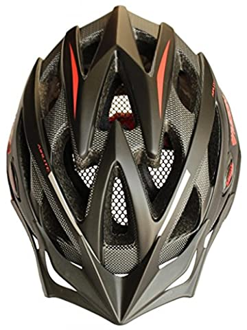 Moon Erwachsene Fahrradhelm Special Sport In-Mold Tech, Mountain MTB Road & 2- In - 1-Ger Abnehmbares Visier mit, leichtes Design, EPS Unisex 8.1, [vent 21]