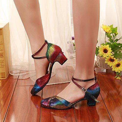 Multicolore Donna Tacco Minitoo Ballo Centimetri cinque AEWxwnzx