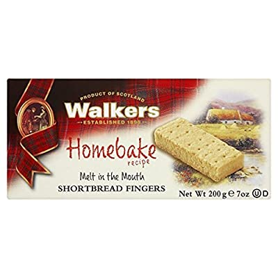 Walkers Homebake Shortbread Fingers 200g
