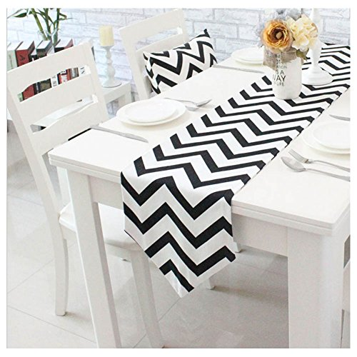 miucoo-1pc-classical-chevron-zig-zag-pattern-table-runner-cotton-canvas-fabric-table-top-decoration-