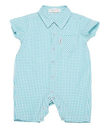 oceankids-bebes-ninos-prendas-de-abrigo-para-bebes-pequenas-jumpsuit-plaid-verde-24m-18-24-meses