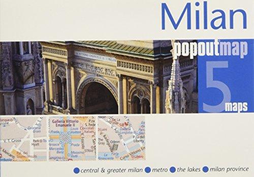 PopOut Map Milan Double (PopOut Maps)