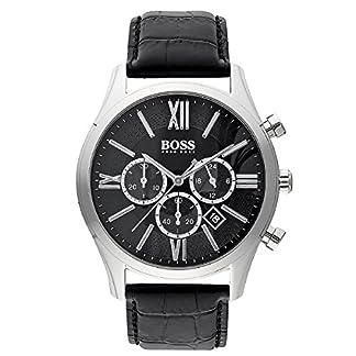 Hugo Boss De los hombres Men's Chronograph Analógico Dress Cuarzo Reloj 1513194