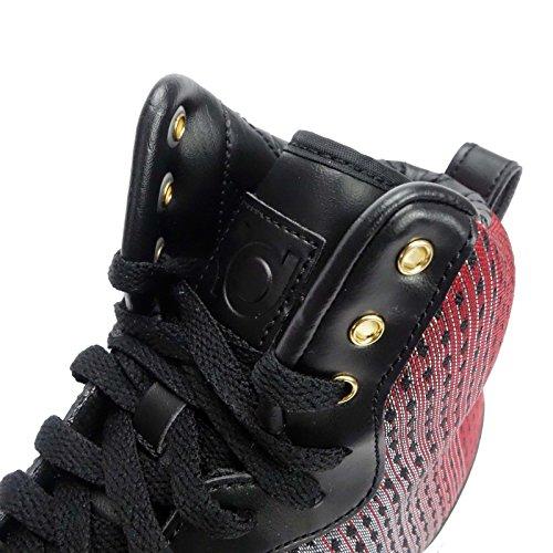 Nsw Da Di Scarpe Filo Nero Argento uomo Basket Kd Stile Nike Sport Nero Metallico Rosso università Vita Vii qgXAFp