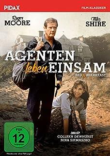 Agenten leben einsam (Bed & Breakfast) / Krimi-Komödie mit Roger Moore und Talia Shire (Pidax Film-Klassiker)