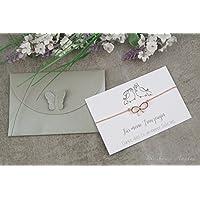 Armband - Trauzeugin - Hochzeit, JGA, Geschenk