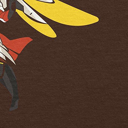 TEXLAB - Angel Wings - Damen T-Shirt Braun