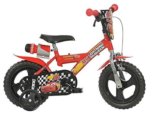 Dino Bikes 123 GL-CS Vélo Garçon - Cars 2, 12