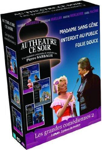 Coffret Madame sans gêne / Interdit au public / Folie douce [Edizione: Francia]