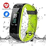 ESOLOM Fitness Tracker, Orologio Fitness Activity Tracker HR Schermo a Colori Cardiofrequenzimetro...