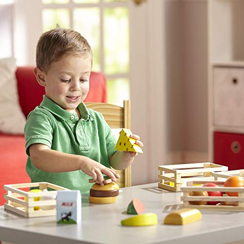 Melissa & Doug 10271 271 House-Play Food, Multicolour, 3 H x 13 W x 9 D