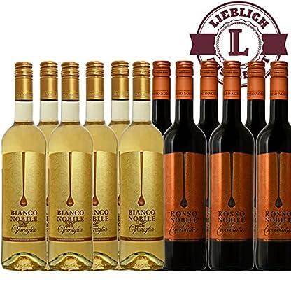 Bianco-6-et-Rosso-6-Noblile-alla-Vaniglia-et-Cioccololata-12x075l-VERSANDKOSTENFREI