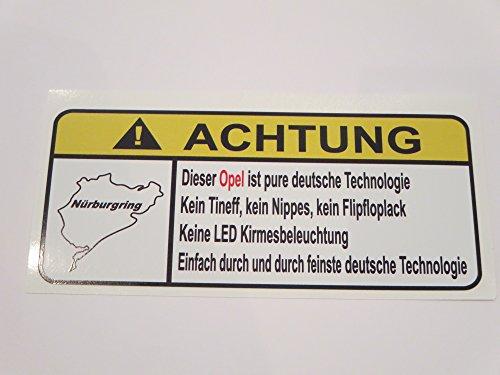 opel-pure-deutsche-technologie-lustig-warnung-aufkleber-decal-sticker