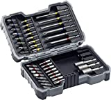 Bosch Profesional - Set de 43 unidades para atornillar y llaves de vaso (Ph,Pz,Sl,H,T,Th)