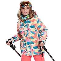 Chico Moda Cómodo Niños Niños Invierno Manténgase Caliente Aire Libre Impermeable Esquí de Nieve Deportes al Aire Libre Chaqueta Chaqueta