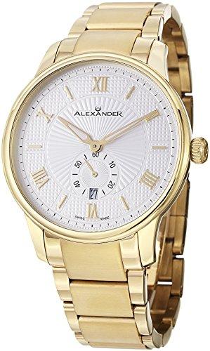 alexander-statesman-regalia-ton-or-jaune-cas-en-acier-inoxydable-sur-bracelet-en-acier-inoxydable-or