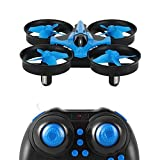 Mini Quadcopter Drone: 6-Axis Gyro RC 625 ELKI with 2.4GHz Remote Controller, Return To Home Function, Headless Mode, Speed Control, 360 Flip Feature, LED Lights, Anti-break Propeller Guards, Wind Resistance, Outdoor & Indoor Use - Small Toy, Child & Adul