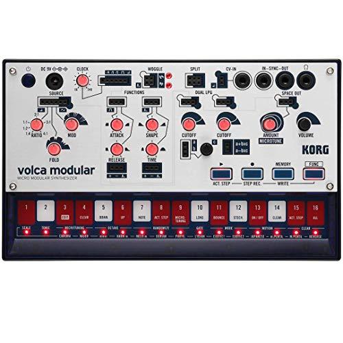 KORG Synthesizer, analog, volca modular, semi-modular, Sequenzer, Patchkabel