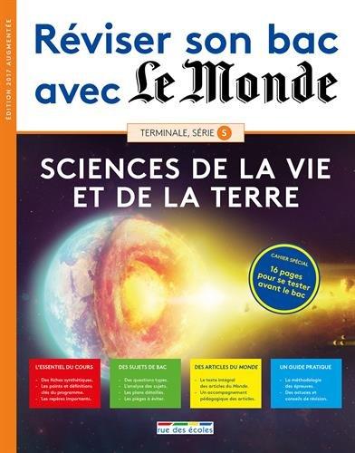 Sciences de la vie et de la Terre Tle, série S par From Rue des Ecoles