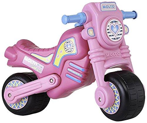 Molto - Moto cross clásica, color rosa (2020)