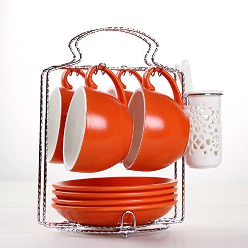 Tasse de café / 4 tasses 4 tasses / tasse de café en céramique grande capacité paquet / (20 couleurs en option) ( couleur : 18# )