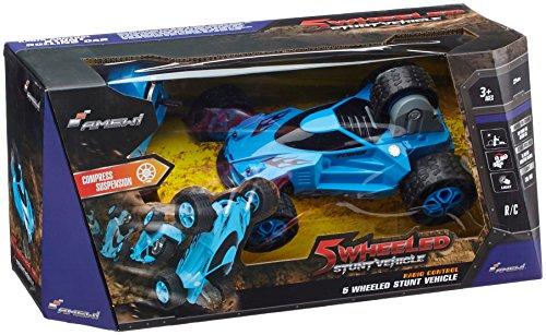 Amewi 22228 - Stunt Car 5 wheels 1:18  4WD RTR, blau