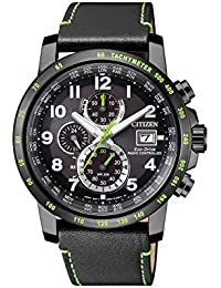 citizen Analog Black Dial Men's Watch - AT8128-07E