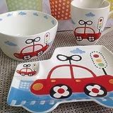 Alice's Collection - 4 pcs, porcelana vajilla para ninos en caja de regalo