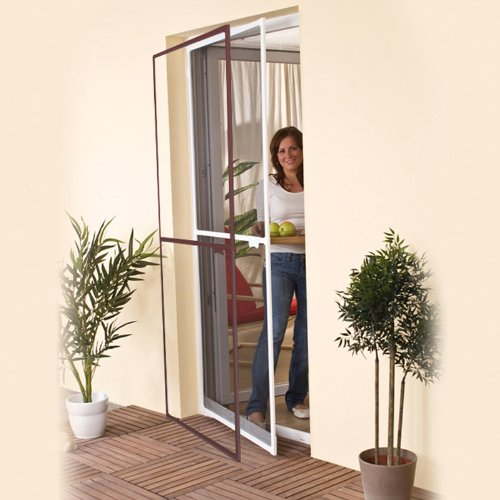 insect-protection-door-screen-white-aluminium-frame-mosquito-net-for-doors-up-to-100x215cm