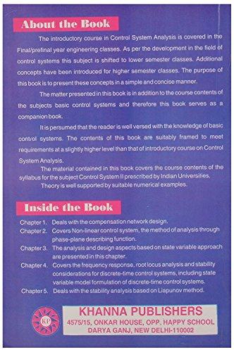 Control System Design [Paperback] [Jan 01, 2014] Manke