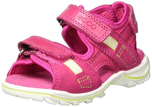 Ecco Mädchen Urban Safari Kids Offene Sandalen mit Keilabsatz, Pink (50229BEETROOT/Beetroot), 26 EU