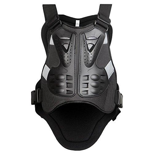 Gububi Équipement Anti-Chute Sport Veste Moto Racing Corps Protection Armure Protection Couverture pour Dirtbike Vélo Motocross Ski Snowboard Convient aux Sports de Plein air