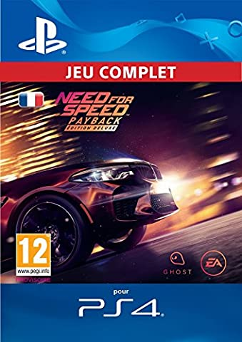 Need for Speed: Payback - Édition Deluxe | Code Jeu PS4 - Compte français