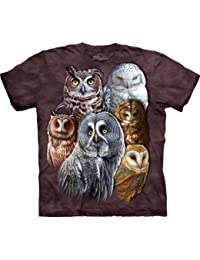 "The Mountain T-Shirt ""Owls"" Gr.M"