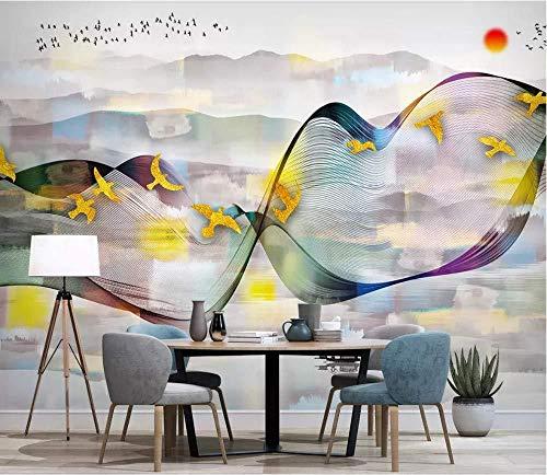 Benutzerdefinierte 3D Wallpaper Fototapete Hintergrund Malerei Wand Tv Tinte Chinesische Landschaft Tinte Extrakt Dell Tapete 3d wandbild tapeten vintage Moderne Hintergrundbild-350cm×256cm
