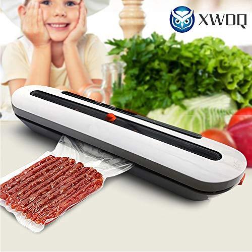 XWDQ Elektrische Vakuumiergerät-Verpackungsmaschine für Hauptküche einschließlich 10pcs Nahrungsmittelretter-Beutel Handelsvakuumnahrungsmittelversiegelung