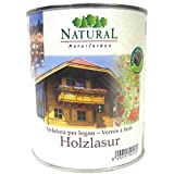 Natural Holzlasur, 2,5 Liter in Nuss