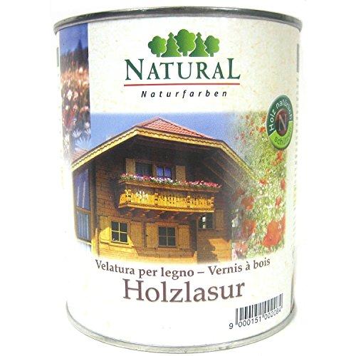 Pflanzenöl-seife (Natural Holzlasur, 0,75 Liter in Pinie)