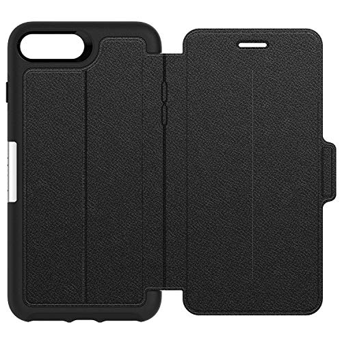 es Premium Folio-Tasche aus Leder für iPhone 7 Plus / 8 Plus, shadow ()