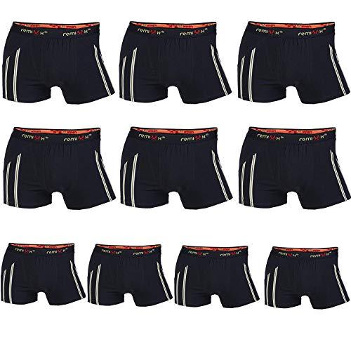 lle Boxershorts Retroshorts, 10er Pack (070Schwarz, 3XL/9) ()