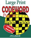 Large Print Codeword Puzzles: Volume 1