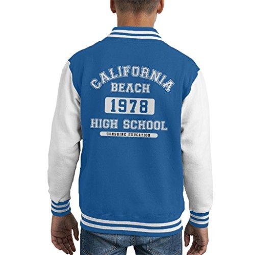 Coto7 California Beach High School Kid's Varsity Jacket -