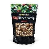 Räucherchips Kirsche für tolles Raucharoma beim Grillen - 100% natürliches Smoker Holz | Ergiebige und sparsame wood chips für Stand- und Kugel-Grill sowie Smoker | 500g