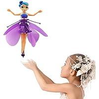 MPH ENTERPRISE Flying Barbie Fairy Doll Dancing Fairy Motion Sensor Magic Flying Fairy Baby Girl Kid Barbie Doll…
