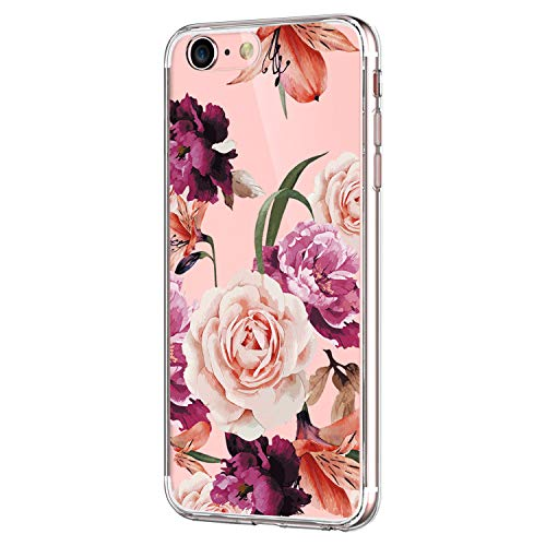 Pacyer Case kompatibel mit iPhone 7 Hülle iPhone 8 Hülle Silikon Ultra dünn Transparent Handyhülle Rückschale TPU Schutzhülle für Apple iPhone 7 / 8 verschiedene Motive