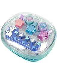 Disney Frozen / Die Eiskönigin / Geschenk-Set: Frozen Frost Nageltrockner + Nagellack-Set - für Kinder